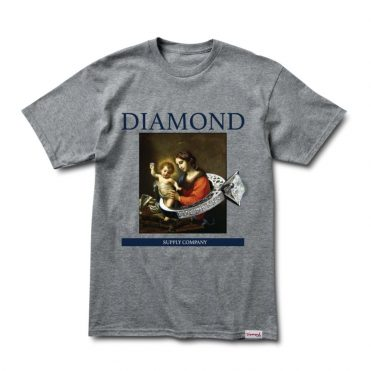 Diamond Supply Co 13th Century T-Shirt Heather Grey