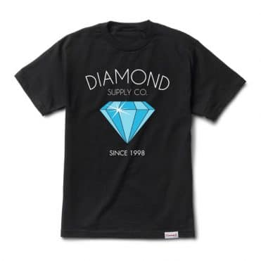 Diamond Supply Co Classic Diamond T-Shirt Black