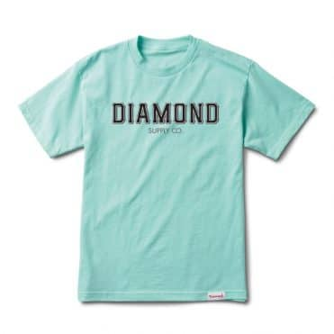Diamond Supply Co SF Diamond T-Shirt Diamond Blue