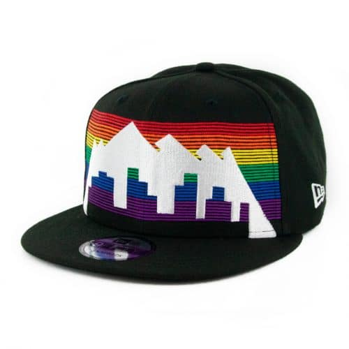 New Era 9Fifty Denver Nuggets City Series 2019 Snapback Hat Black