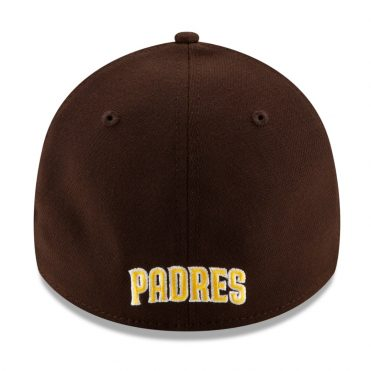 New Era 39Thirty San Diego Padres 2020 Team Classic Stretch Fit Hat Dark Brown