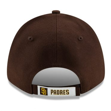 New Era 9Forty San Diego Padres The League Game 2020 Strapback Hat Dark Brown