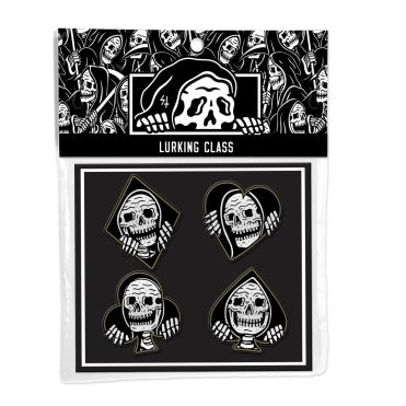 Sketchy Tank Suits Label Pin Pack