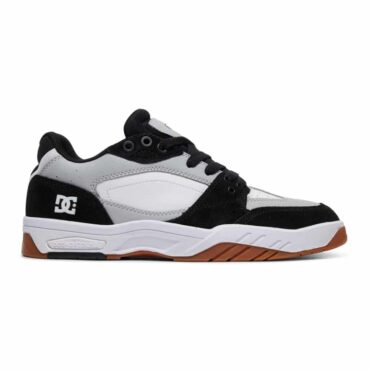 DC Shoes Maswell Shoe Grey Black White