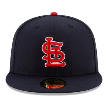 New Era 59Fifty St. Louis Cardinals 2020 Alternate 1 Authentic Collection On Field Fitted Hat Dark Navy