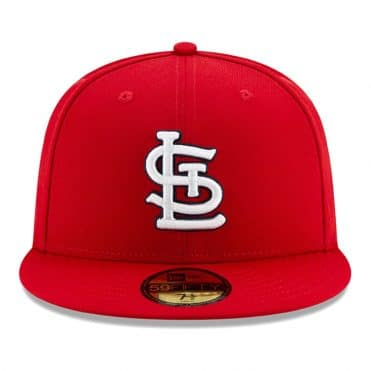 New Era 59Fifty St. Louis Cardinals 2020 Game Authentic Collection On Field Fitted Hat Red