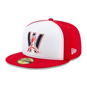 New Era 59Fifty Washington Nationals 2020 Alternate 4 Authentic Collection On Field Fitted Hat Red White