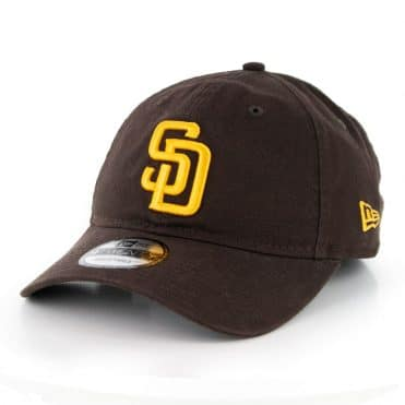 New Era 9Twenty San Diego Padres 2020 Game Hat Dark Brown
