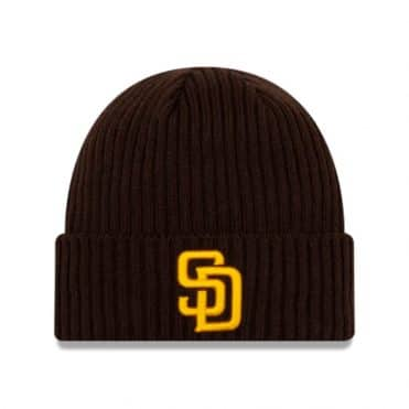 New Era San Diego Padres 2020 Game Knit Beanie Dark Brown