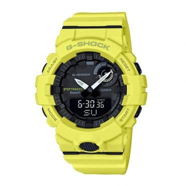 G-Shock GBA800-9A Watch Yellow