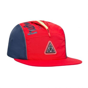 HUF Conceal Pocket Volley Hat Mandarin Red