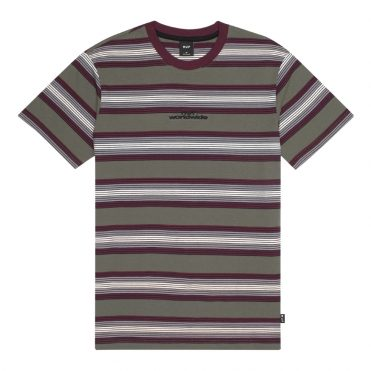 HUF Travis Knit Top T-Shirt Raisin