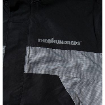 The Hundreds Canyon Anorak Jacket Black