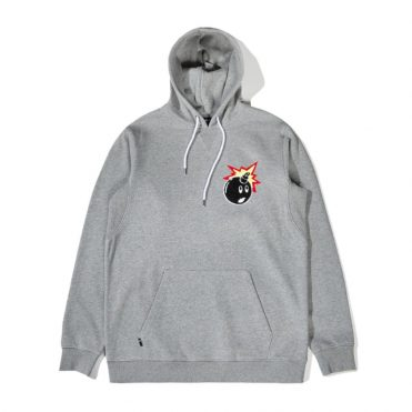 The Hundreds Switchback Pullover Sweatshirt Athletic Heather