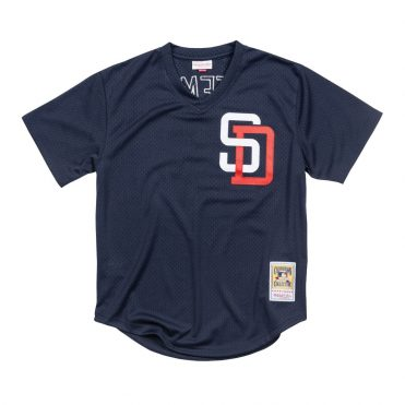 Mitchell & Ness San Diego Padres Authentic Batting Practice 1996 Hoffman Jersey Navy