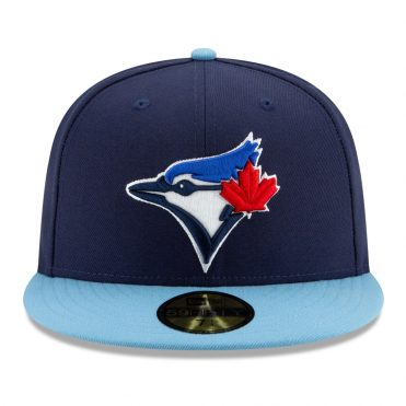 New Era 59Fifty Toronto Blue Jays Alternate 4 Authentic On Field Fitted Hat Navy