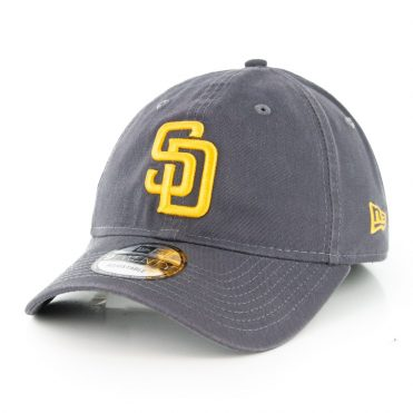 New Era 9Twenty San Diego Padres Core Classic Adjustable Hat Graphite Gold
