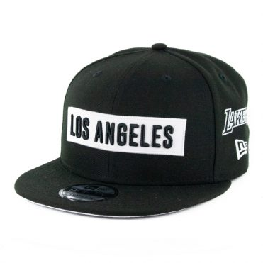New Era 9Fifty Los Angeles Lakers Multi Snapback Hat Black