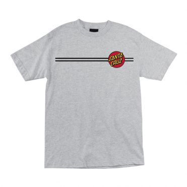 Santa Cruz Classic Dot T-Shirt Athletic Heather