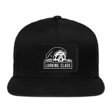 Sketchy Tank Lurking Class Snapback Hat SP20 Black