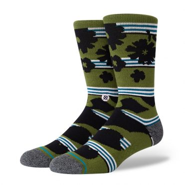 Stance Berner Sock Green