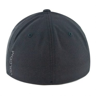 Volcom Stone Tech Xfit Flexfit Hat Black