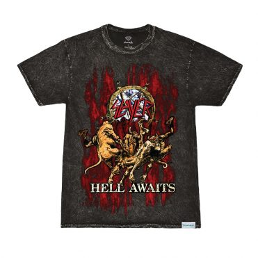 Diamond Supply X Slayer Hell Awaits T-Shirt Black