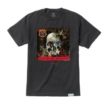 Diamond Supply X Slayer South Of Heaven T-Shirt Black