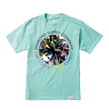Diamond Supply Clarity T-Shirt Diamond Blue