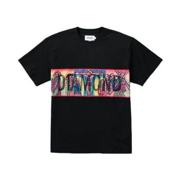 Diamond Supply Icons Panel T-Shirt Black
