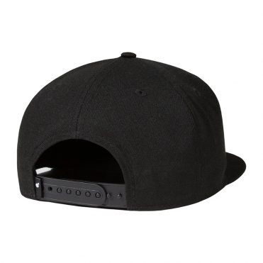 The Hundreds Dribble Snapback Hat Black