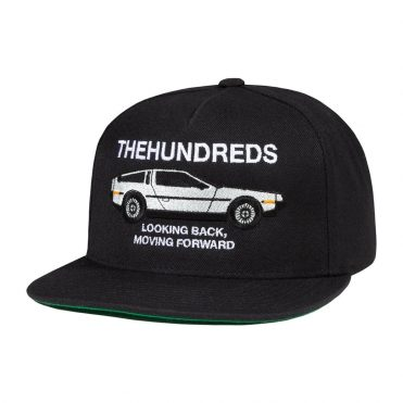 The Hundreds Forward Snapback Hat Black