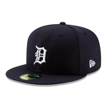 New Era 59Fifty Detroit Tigers 2020 Home Authentic On Field Fitted Hat Dark Navy
