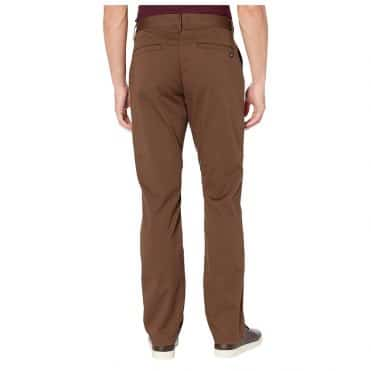 RVCA The Weekend Straight Pant Chocolate