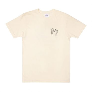 Rip N Dip Fingered T-Shirt Natural