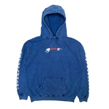 Rip N Dip Zipperface Hooded Sweatshirt Royal Blue