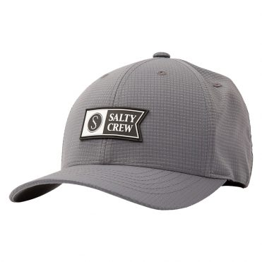 Salty Crew Alpha Tech 6 Panel Grey