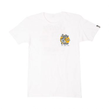 Salty Crew Bait And Tackle T-Shirt White