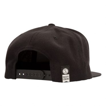 Salty Crew Farallon 6 Panel Black