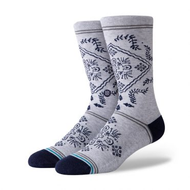 Stance Bandero Sock Grey