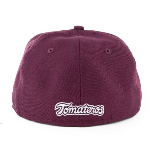 New Era 59Fifty Culiacan Tomateros Fitted Hat Burgundy