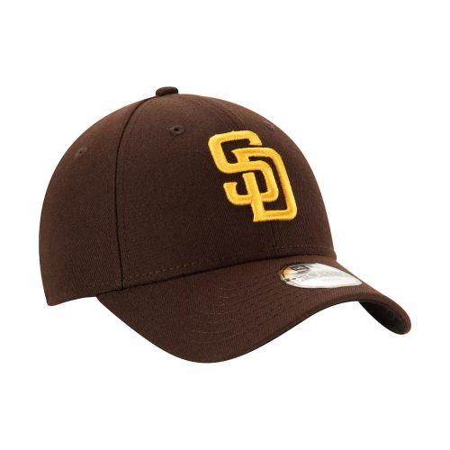New Era 9Forty San Diego Padres The League Youth 2020 Strapback Hat Dark Brown