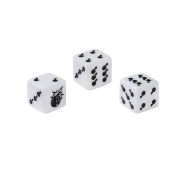 The Hundreds Adam Dice 3 Pack White